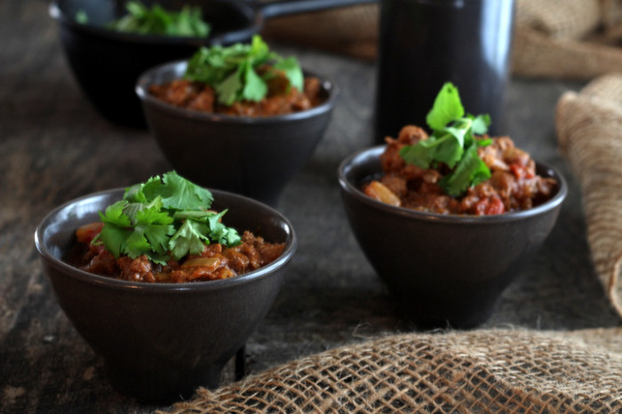 Liver chili from mommypotamus