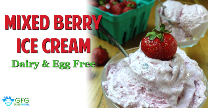 Mixed Berry Low Carb Ice Cream recipes