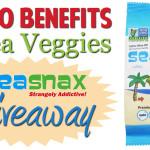 Top 10 Benefits of Sea Veggies & SeaSnax Giveaway