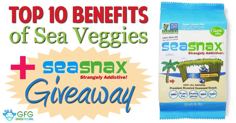 Top 10 Benefits of Sea Veggies