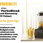 Vitamix Giveaway Winner Announcement