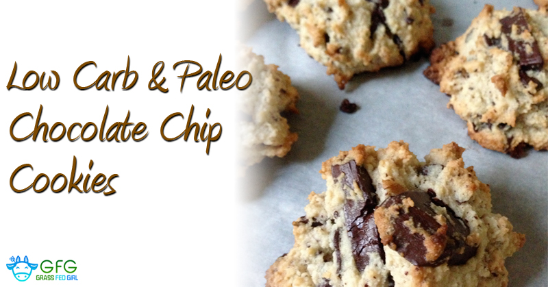 Keto Low Carb and Paleo Chocolate Chip Cookies Recipe