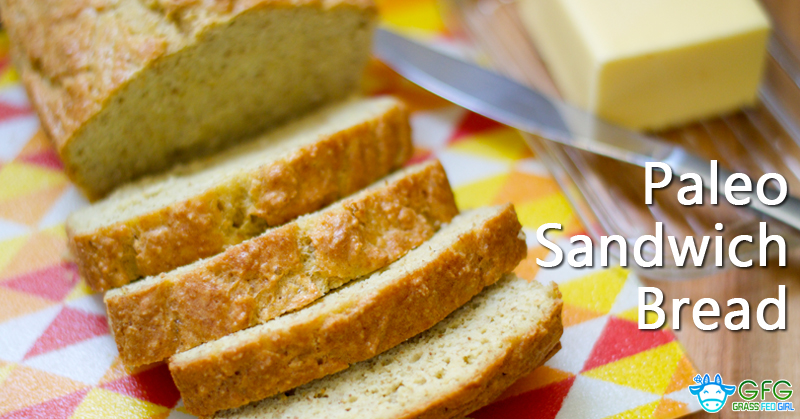 Paleo White Sandwich Bread Recipe