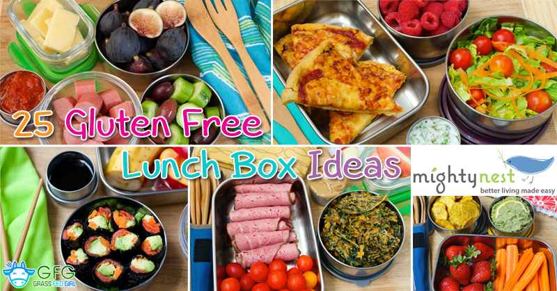25 Gluten Free Lunch Box Ideas