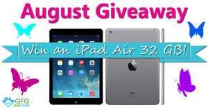 August Giveaway – Apple iPad Air 32 GB