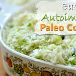 Easy Autoimmune Paleo Coleslaw (low carb, gluten free, grain free, dairy free)