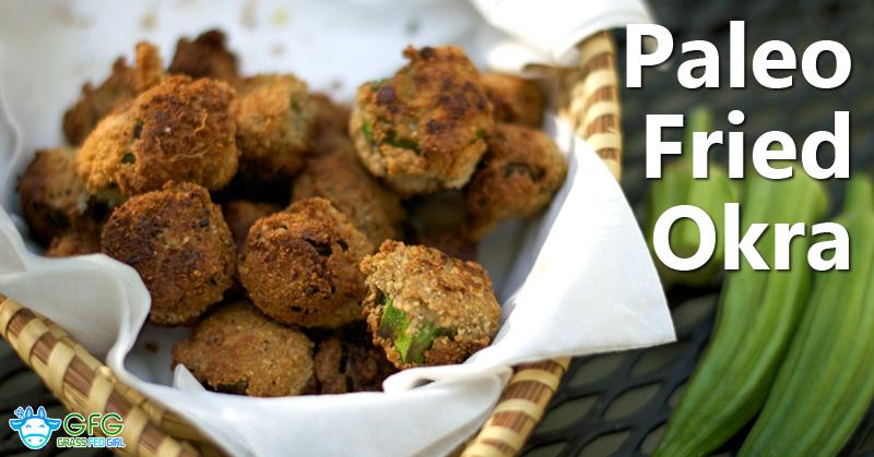 Paleo Fried Okra (gluten-free, grain-free, dairy-free, vegetarian