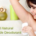 Fresh and Natural Homemade Deodorant Recipe