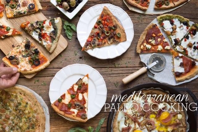 mediterranean PAleo pizza