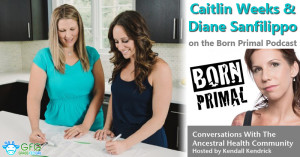 Caitlin Weeks and Diane Sanfilippo on the Born Primal Podcast