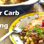 Best Savory Lower Carb Paleo Stuffing Recipe (gluten-free, grain-free and dairy free)