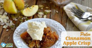 Paleo Cinnamon Apple Crisp