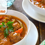 How to Make an Easy Paleo Italian Meatball Minestrone Soup Recipe