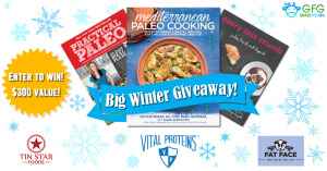 $300 Giveaway: Skincare, Gelatin, Ghee, and 3 Awesome Paleo books