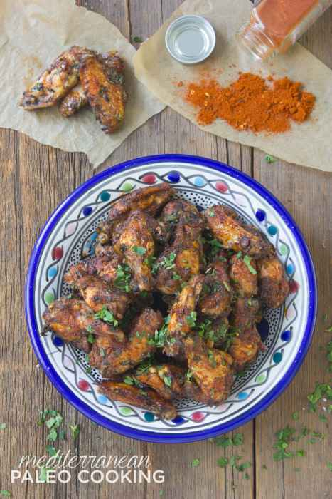 Chicken Wings Paleo