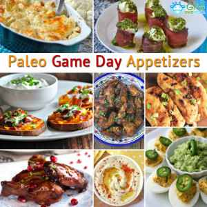 Paleo Game Day Appetizers (gluten free and low carb)