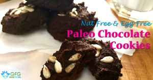 Nut Free Paleo Chocolate Cookies Recipe