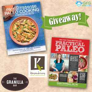 Kasindrinos Olive Oil and Granilla Bar Giveaway with Practical Paleo and Mediterranean Paleo Cooking