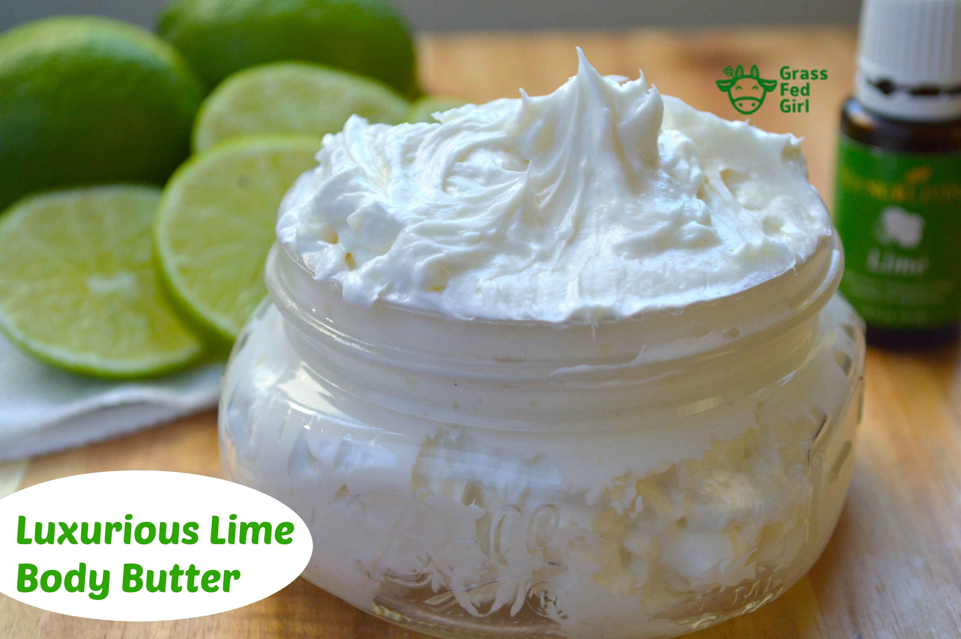 Homemade Lotion Recipe with Lime Young