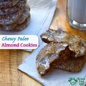 Chewy Paleo Almond Cookie Recipe