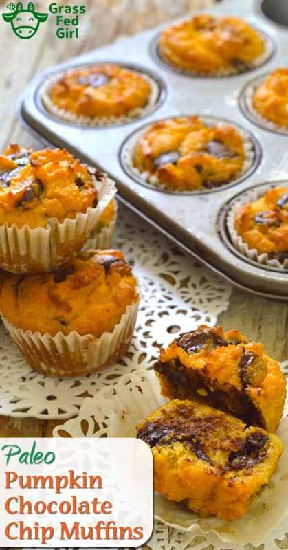 Paleo Chocolate Chip Muffins
