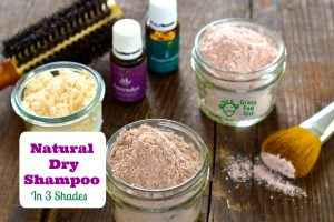 Natural Dry Shampoo for Greasy Hair in 3 Shades