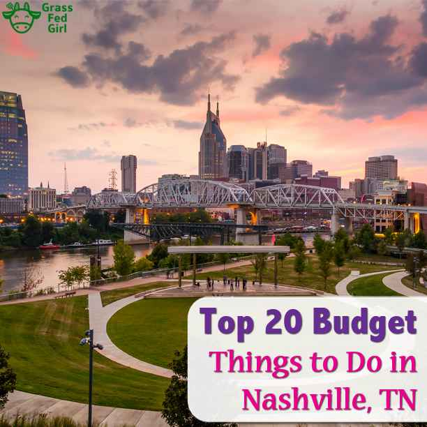20 things to do in Nashville Free or Budget