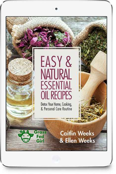 book on essential oils from health expert