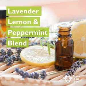 Lavender, Lemon and Peppermint Essential Oil Blend