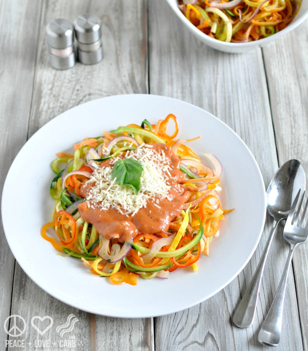Rainbow Vegetable Noodles 3