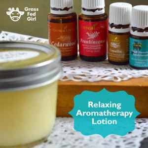 Relaxing Aromatherapy Lotion