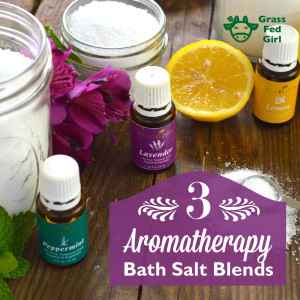 3 Relaxing Epsom Salt Bath Blends