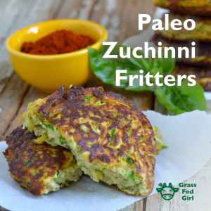 Fried Zucchini Recipe: Paleo Fritters