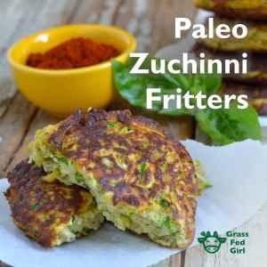 Fried Zucchini Recipe: Paleo Fritters