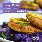 Easy Grain Free Salmon Cakes