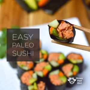 Low Carb Paleo Sushi