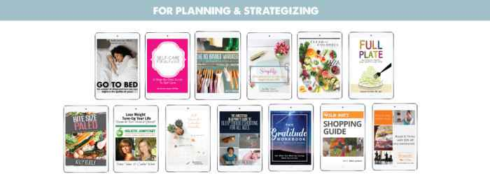 Section Graphics, For Planning & Strategizing