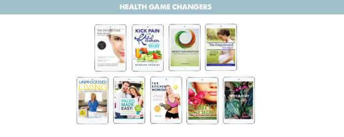Sections Graphic, Health Game Changers