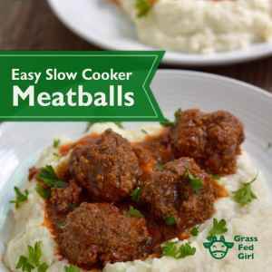 Easy Meatball Crock Pot Recipe