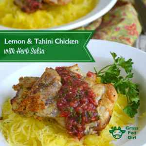Tahini and Lemon Chicken Recipe