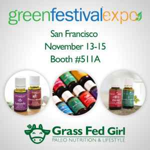 Young Living Essential Oils at Green Living Expo San Francisco 2015