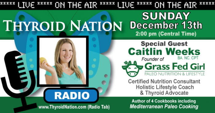 Thyroid Nation Interview About My Hashitmoto's Healing Journey | Grass Fed Girl