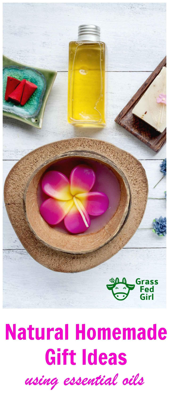 homemade essential oils gifts pinterest