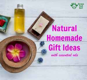Natural Homemade Christmas Gift Ideas with Essential Oils