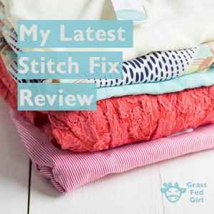 My Latest Fashion Stitch Fix Review