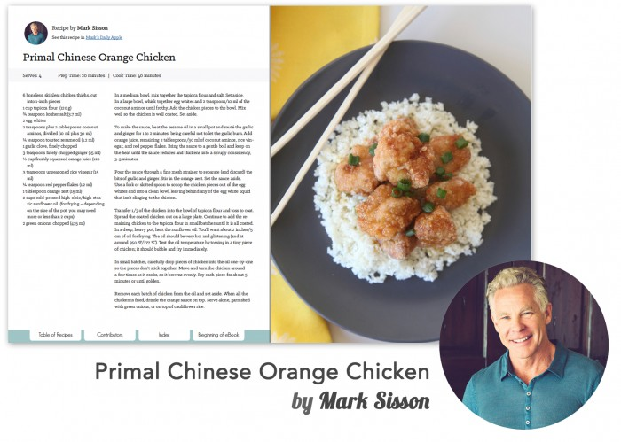 Recipe -Mark Sisson