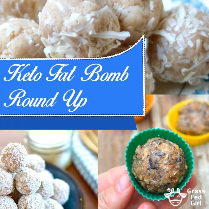 Keto Fat Bomb Low Carb Dessert Round Up