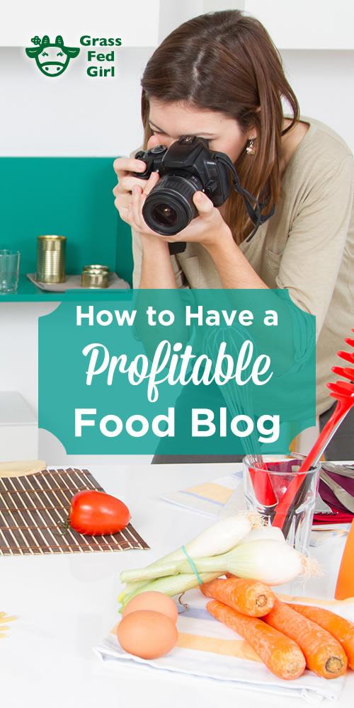 food blog that makes money