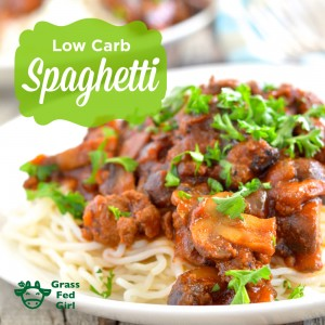 Low Carb Homemade Spaghetti Sauce Recipe