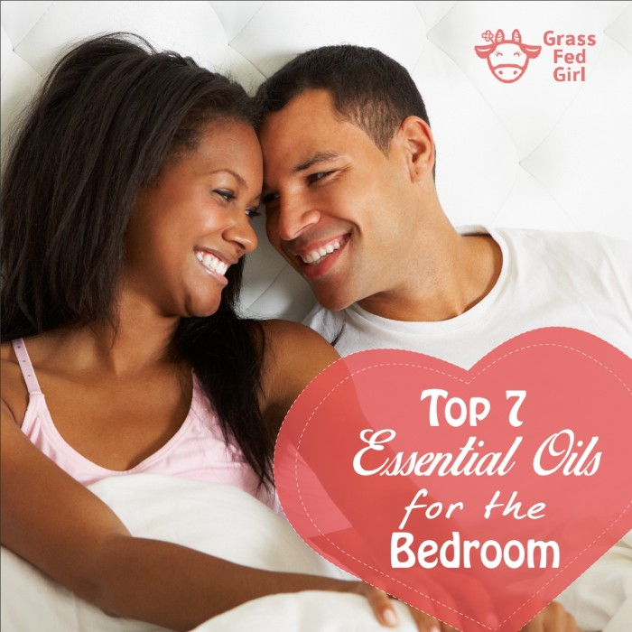 top 7 essential oils for the bedroom